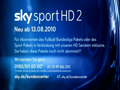 Sky Sport HD 2 Germany